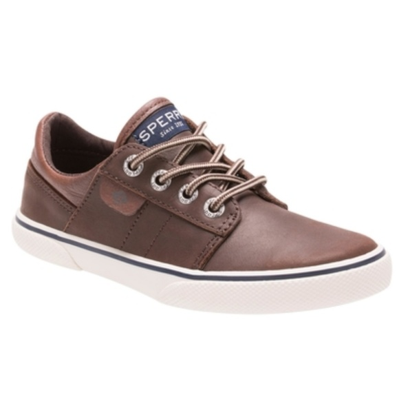Sperry Other - SPERRY OLLIE LEATHER SNEAKERS